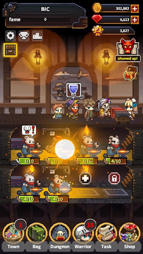 Warriors' Market Mayhem VIP : Offline Retro RPG apklade screenshots 1