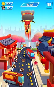 Talking Tom Hero Dash – Run Game APK MOD FULL APKPUKE ***NEW 2021*** 3