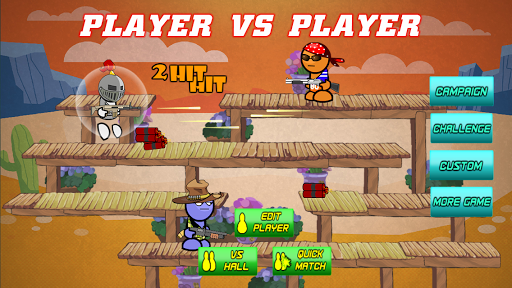 Gun Fight Online:Stick Bros Combat VS Mode  screenshots 1