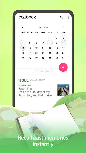 Daybook - Diary, Journal, Note, Mood Tracker android2mod screenshots 4