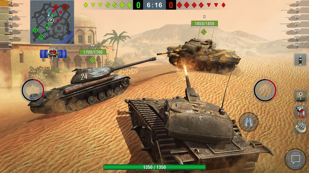 World of Tanks Blitz PVP MMO 3D tank game for free poster 6