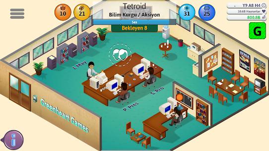Game Dev Tycoon Apk Para Hileli İndir 3