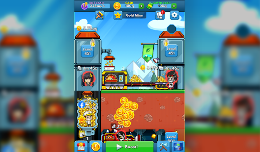 Idle Miner Tycoon: Gold & Cash Game 3.62.1 Screenshots 6
