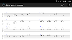 Guitar scale exercisesのおすすめ画像3