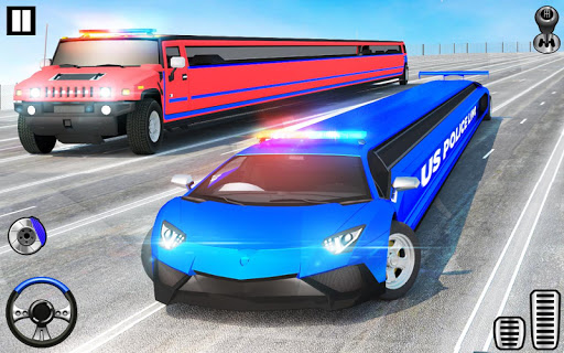 US Police Limo Transport, Aeroplane transport Game 1.0.9 screenshots 10