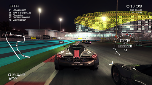 GRIDu2122 Autosport - Online Multiplayer Test 1.7.2RC1-android screenshots 1