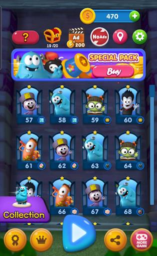 Spookiz Blast : Pop & Blast Puzzle screenshots 2