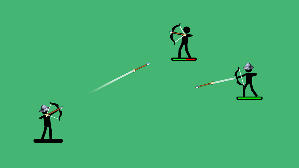 The Archers 2: Stickman Games for 2 Players or 1  poster 0