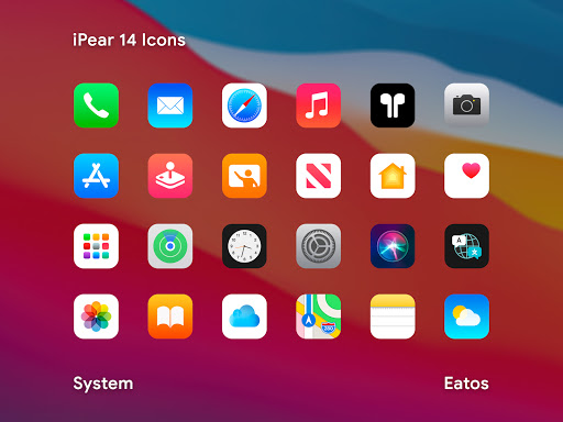 Download APK: iPear 14 – Icon Pack v1.2.0 [Patched]