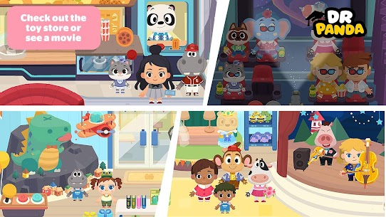 Dr. Panda Town Mall MOD (Unlimited Money) 5