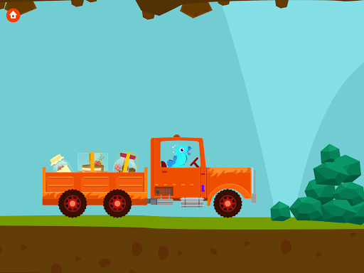 Dinosaur Truck - Car Games for kids android2mod screenshots 9