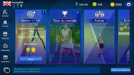 Télécharger Gratuit Real Tennis Manager mod apk screenshots 3