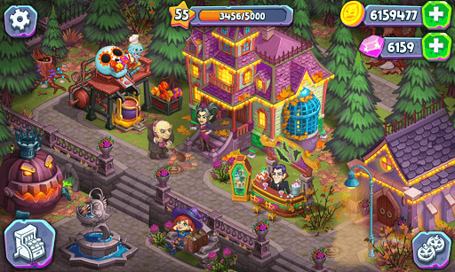 Monster Farm - Happy Ghost Village - Witch Mansion 1.60 screenshots 10
