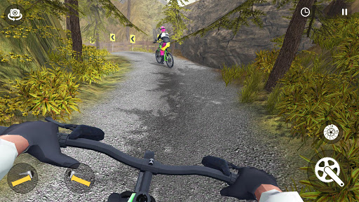 Xtreme Mountain Bike Downhill Racing - Offroad MTB screenshots 10