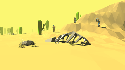 Blocky Apex Strike - Desert Gun Tale screenshots 3