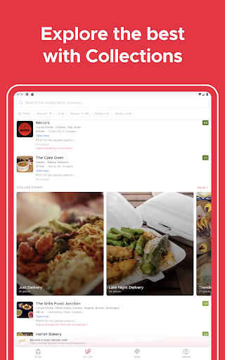 Zomato - Online Food Delivery & Restaurant Reviews android2mod screenshots 10
