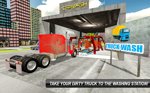 Real Euro Truck Wash Simulator 18 & Truck Driving 1
