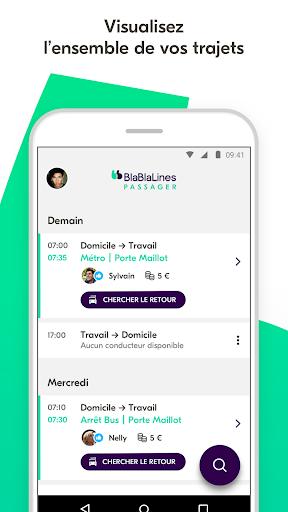 BlaBlaLines - Covoiturage Quotidien 5.4.0 Screenshots 1