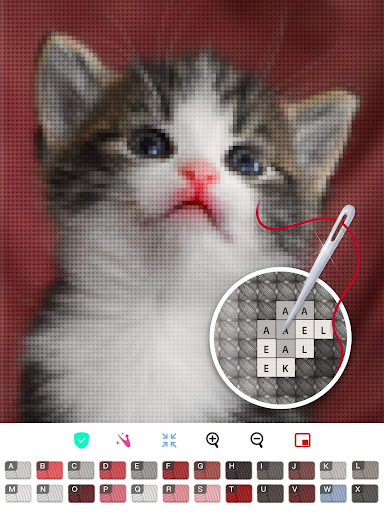 Color by Letter - Sewing game  Cross stitch 1.1.4 Screenshots 15