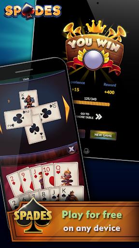 Spades - Offline Free Card Games android2mod screenshots 4