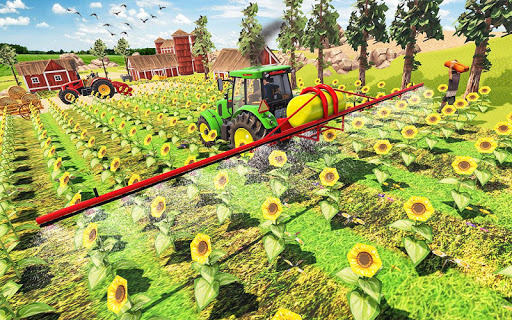 Real Farming Tractor Farm Simulator: Tractor Games screenshots 2