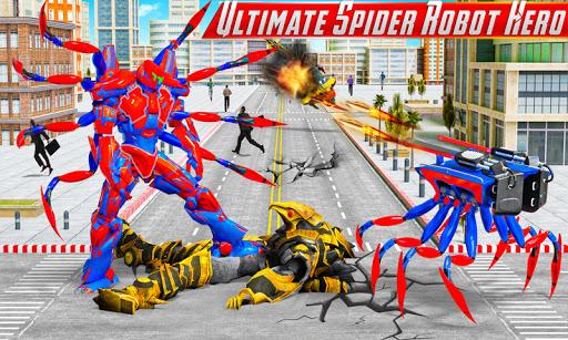 Spider Robot Car Game u2013 Robot Transforming Games android2mod screenshots 3