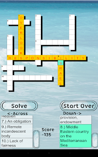 Bible Crossword FREE Screenshot