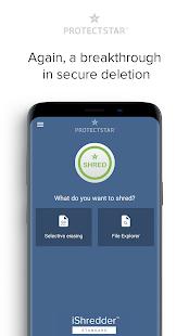 Secure Erase with iShredder 6 Screenshot