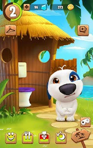 My Talking Hank Mod Apk (Unlimited Money) 2.0.0.90 6