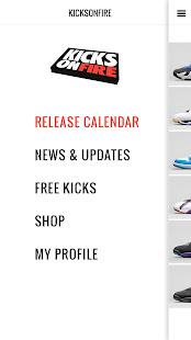 KicksOnFire: Shop, Release Calendar & Price Guide