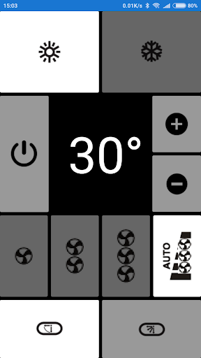 Electra AC Remote, as seen in picture! NO settings  Screenshots 5
