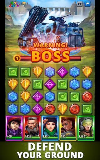 Puzzle Combat: Match-3 RPG Apkfinish screenshots 14
