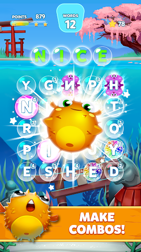 Bubble Words - Word Games Puzzle  screenshots 4