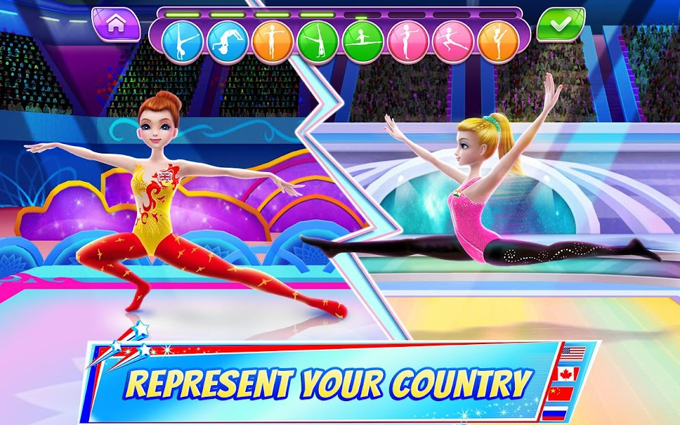 Gymnastics Superstar - Spin your way to gold! Android App Screenshot