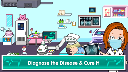My Tizi Town Hospital - Doctor Games for Kids ud83cudfe5 1.1 Screenshots 6