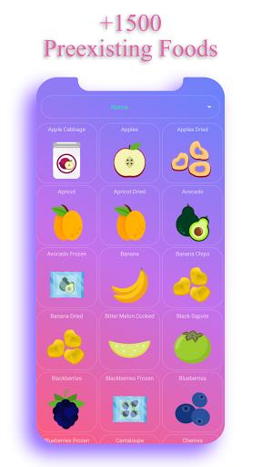 Calorie Counter - EasyFit free 3.7 screenshots 2
