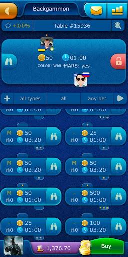 Backgammon LiveGames - live free online game 4.01 screenshots 4