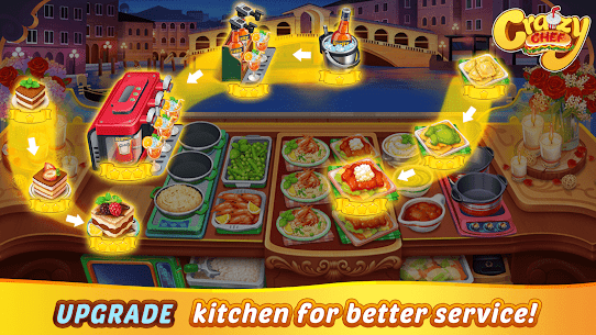 Crazy Chef: Fast Restaurant Cooking Games 5