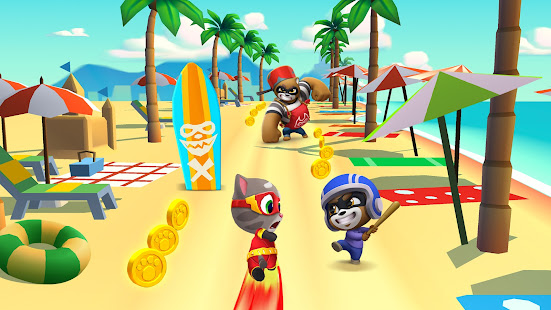 Talking Tom Hero Dash - Run Game Mod Apk