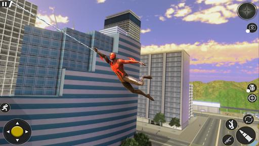 Spider Rope Hero Gangster: Crime City Simulator 3D  screenshots 3
