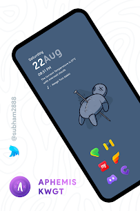 Aphemis KWGT Apk [PAID] for Android 8