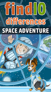 Space Adventure 10 Differences
