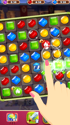Jewel Dungeon - Match 3 Puzzle 1.0.99 screenshots 1