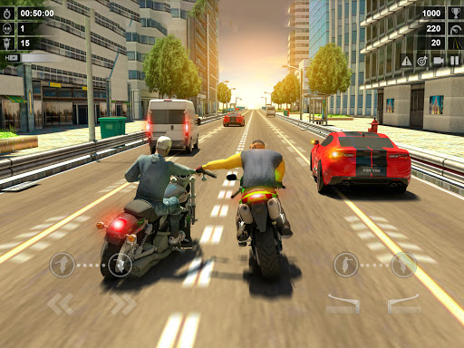 Traffic Racer: Dirt Bike Games apkdebit screenshots 10