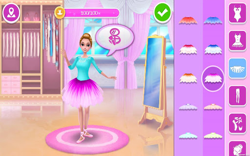 Pretty Ballerina - Dress Up in Style & Dance 1.5.3 screenshots 12