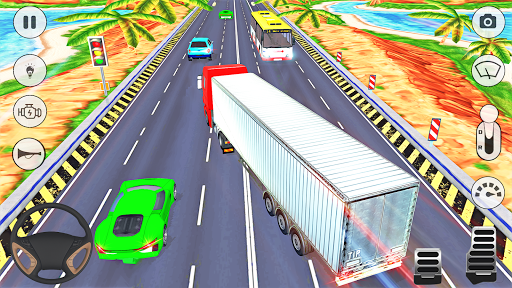 In Truck Driving 2: Euro new Truck 2020 apkpoly screenshots 6