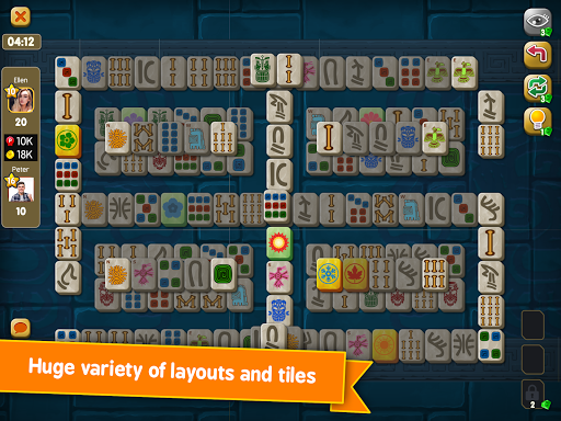 Mahjong Maya Puzzle Live Duels  screenshots 13