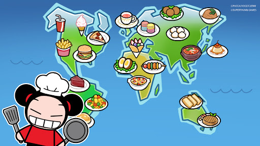 Let's Cook! Pucca : Food Truck World Tour modavailable screenshots 22