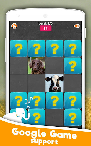 Memory Game: Animals android2mod screenshots 2