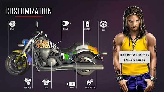 Bedava motor Trafik Binici  otoyol Sürme Oyunlar Apk 2021 2